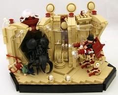 Blast (Bart De Dobbelaer) Tags: lego space vignette hex