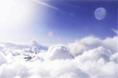 Week 26 - Halfway Home (Mwanz) Tags: clouds flying week26 52weeks
