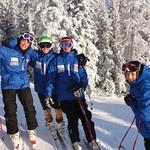 11/12 Men's BC Ski Team Training PHOTO CREDIT: Brandon Dyksterhouse