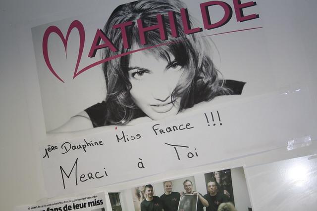 Une affiche à la gloire de Mathilde