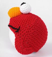 Free Crochet Pattern For Elmo Beanie : Ravelry: Crochet Elmo Earflap Beanie pattern by Dana Jordan