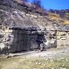 Outcropping where a skull of Paran…