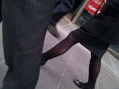 20100916130819 (phosed) Tags: legs candid tights pantyhose