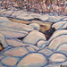 Water and Ice, oil on canvas. Artist: Nancy Brossard