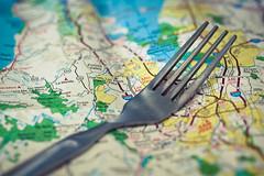 Fork in the Road (Bryan Nabong) Tags: road macro map fork ontheroad macromondays