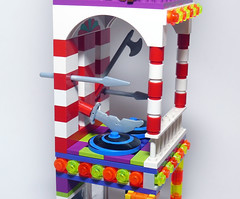Joker's Funhouse - Level 2 (Oky - Space Ranger) Tags: park carnival house robin fun amusement lego super harley laugh batman joker heroes hyena quin hideout