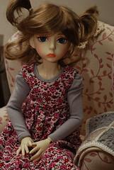 Pinafore dress (Little little mouse) Tags: susie bjd dollfie ganga dollstown dt7