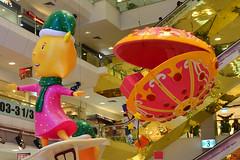 Centrepoint #3 (chooyutshing) Tags: christmas decorations festive singapore shoppingcentre atrium centrepoint orchardroad 2011
