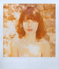 (Lou O' Bedlam) Tags: amanda losangeles polaroidsx70 louobedlam polaroid600film lounoble 102011