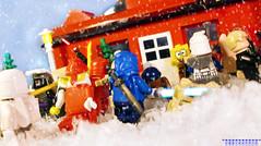 Day 355 (chrisofpie) Tags: chris pie monkey lego doug legos hero heroes minifig roger minifigure bluehat legohero chrisofpie rogeranddoug 365legos dougthechimp