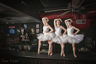 Ballerinas on the Bar