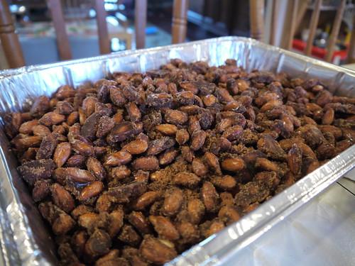 Candied almonds, © terrabytefarm