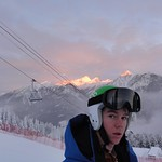 BC Ski Team's Roger Carry (FAST) at Panorama Miele Cup December 2011 PHOTO CREDIT: Brandon Dyksterhouse