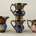244. Group of Lusterware Pitchers