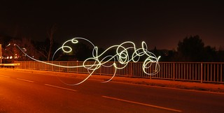 Light Painting - Bouc Bel Air