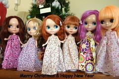 Blythe Christmas 2011