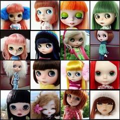 My family doll 2011. In 2012 some will go and others stay.      Mi familia en 2011.En 2012 unas se quedaran y otras se iran.