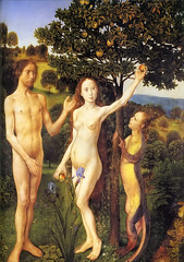 The Fall of Adam and Eve (Hugo van der Goes, c...