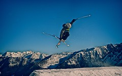 cauterets session (Trialxav) Tags: snow apple macintosh mac nikon freestyle skiing osx neige d200 snowpark cauterets trialxav