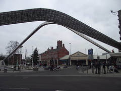 Milennium Square (CoasterMadMatt) Tags: city uk greatbritain houses england house building english architecture buildings photography town photos unitedkingdom britain photographs gb british coventry westmidlands busstation britian 2011 themidlands milenniumsquare poolmeadow poolmeadowbusstation coastermadmatt