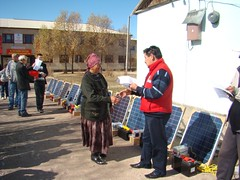 New solar panels for jamaats (associations of pasture users) (UNDP in Europe and Central Asia) Tags: poverty chat energy farmers environment pastures agriculture livestock kyrgyzstan solarpower hydropower undp suusamyrvalley sandyk greentechnologies sustainablelandmanagement