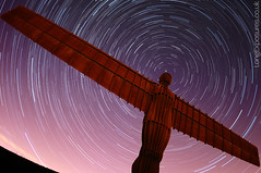 A Halo for an Angel (AndWhyNot) Tags: uk longexposure light urban sculpture art field angel night circle stars north wide halo landmark gateshead astrophotography pollution installation startrails angelofthenorth lightpollution stargazing anthonygormley widefield skywatching urbanstartrail urbanstartrails