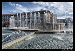 Un anno effervescente........One year effervescent........ (Jean-Pierre54) Tags: milano fontana piazzacairoli mygearandme