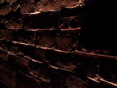 Brickwork Detail (3) (mark-vauxhall) Tags: cameraphone lighting cambridge light detail brick mobile closeup bar dark ma shadows phone massachusetts low bricks cell mortar ave mass dim avenue brickwork 02139