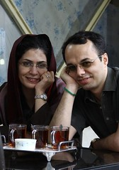 Amin Ahmadian           ..           .. ...  with Bahare Hedayat. (Free Shabnam Madadzadeh) Tags: green love poster freedom movement with iran political protest change amin   azadi sabz aks            khafan hedayat akx siyasi   bahare    zendani  ahmadian  30ya30 kabk22 30or30