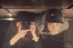 In the Elevator (chelseatatum) Tags: selfportrait reflection 35mm nikon elevator d7000