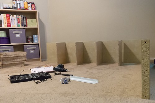 Building a large Expedit shelf
