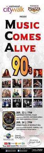 90s Music Comes Alive