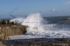 DSC00673 (Mark Coombes Photography) Tags: sea portland waves dorset rough