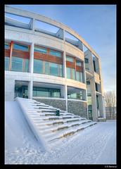 Realfagsbygget - NTNU (vegarste) Tags: winter snow building norway architecture campus concrete norge vinter nikon europe outdoor norwegen amphitheater trondheim hdr gløshaugen ntnu snø arkitektur realfagsbygget bygning betong amfi trøndelag d90 3xp photomatix tonemapping 3exp statsbygg narudstokkewiig husarkitekteras