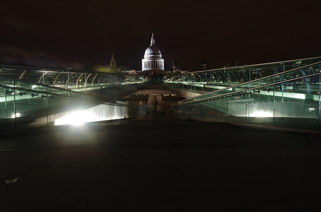 MILLENIUM Bridge and St Pauls.JPG