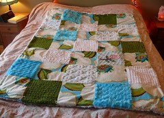 Patchwork Chenille & Embroidery Quilt 4 (Nesha's Vintage Niche) Tags: anna vintage quilt embroidery maria sew patchwork chenille horner