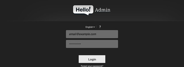 Hello Admin - a Full Featured Admin Template