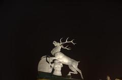 Jager Deer (Ramiro Marquez) Tags: city statue germany deutschland europe stuttgart center deer schlossplatz hdr newpalace neueschloss