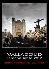 Cartel Oficial Semana Santa Valladolid · 2012