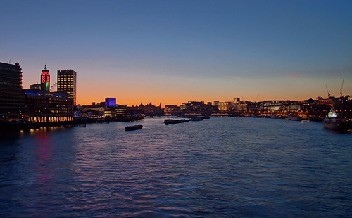 T is for... twilight down the Thames