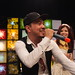 Loy9 TV Show - Dj Khliang (in hat) and Meas Skosophea singing the theme song - Jan'12