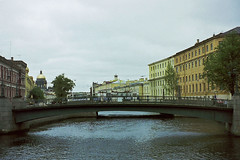 St Petersburg, city of canals (Miche & Jon Rousell) Tags: city bridge stpetersburg canal russia baltic veniceofthenorth