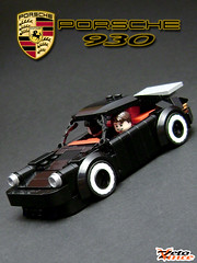 Porsche 930 (ZetoVince) Tags: car greek lego 911 vince turbo porsche vehicle minifig supercar 930 blackrims zeto foitsop zetovince dreamdealer