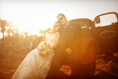 Johnny & Sarah Wedding at Condors Nest Ranch in Pala