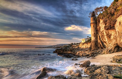 Victoria Beach (- Eddie -) Tags: ocean california sunset sky seascape castle beach water clouds landscape sand rocks waves cliffs turret lagunabeach victoriabeach victoriantower mygearandme mygearandmepremium mygearandmebronze mygearandmesilver mygearandmegold mygearandmeplatinum mygearandmediamond flickrstruereflection1 flickrstruereflection2 flickrstruereflection3 flickrstruereflection4 flickrstruereflection5 flickrstruereflection6 flickrstruereflection7 flickrstruereflectionexcellence eddieyerkish sunrays5