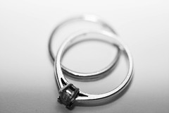 Intersecting (sunny_hels) Tags: macro monochrome female circle married marriage engagementring jewellery rings weddingring odc interseting ourdailychallenge