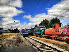 Estacin Lautaro. (DeutzHumslet) Tags: chile yards station canon gm estacin sx20 fepasa lautaro emd automotor sdl39 2341 tld504 2344 fesub ringexcellence dblringexcellence tplringexcellence caf593 eltringexcellence
