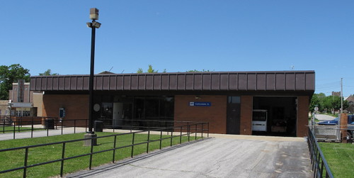 Amtrak station, Carbondale (Ill.), 6 May 2010