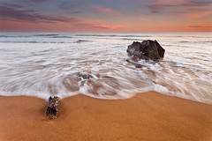 Poseidon is Sleeping (DavidFrutos) Tags: sunset sea costa seascape beach water rock clouds landscape atardecer coast mar agua rocks playa paisaje murcia filter lee nubes canondslr hitech roca rocas filtro filtros calblanque neutraldensity canon1740mm gnd8 graduatedneutraldensity densidadneutra davidfrutos 5dmarkii reversegnd09 singhraygallenrowellnd3ss