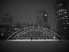Night Skate (cookedphotos) Tags: winter blackandwhite snow toronto cold ice cityhall skate skatingrink nathanphillipssquare
